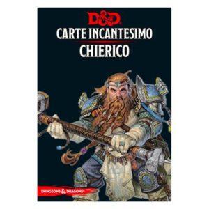 Dungeons & Dragons - 5a Edizione - Carte Incantesimo CHIERICO