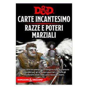 Dungeons & Dragons - 5a Edizione - Carte Incantesimo  RAZZE e POTERI MARZIALI