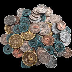 SCYTHE - Monete in Metallo 50$